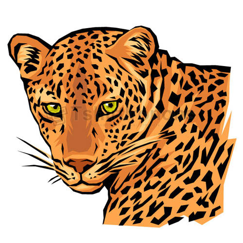 Cheetah T-shirts Iron On Transfers N5381