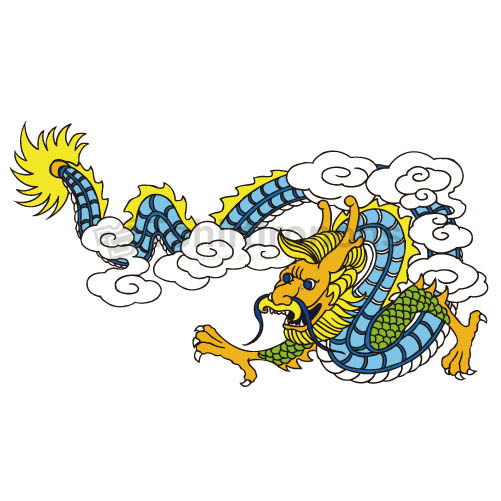 Dragon T-shirts Iron On Transfers N5445