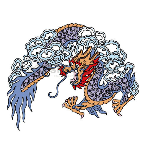 Dragon T-shirts Iron On Transfers N5450