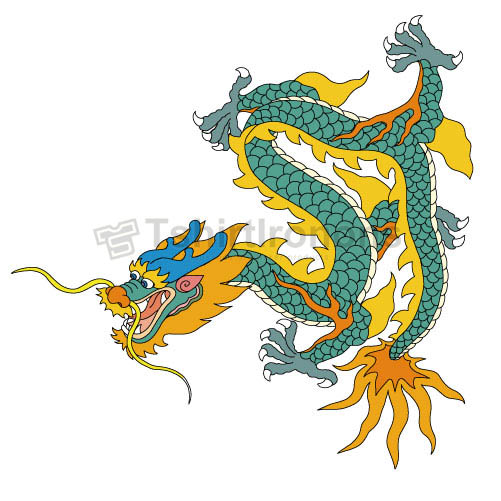 Dragon T-shirts Iron On Transfers N5460