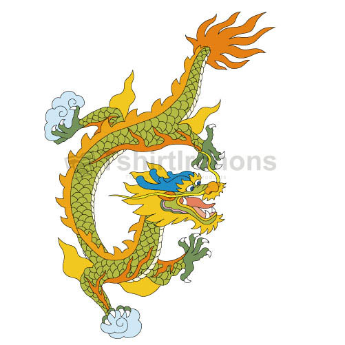 Dragon T-shirts Iron On Transfers N5464