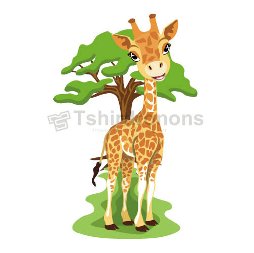 Giraffe T-shirts Iron On Transfers N8095