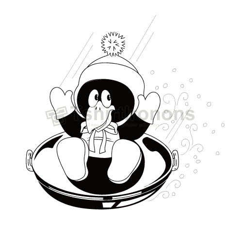 Penguin T-shirts Iron On Transfers N6920