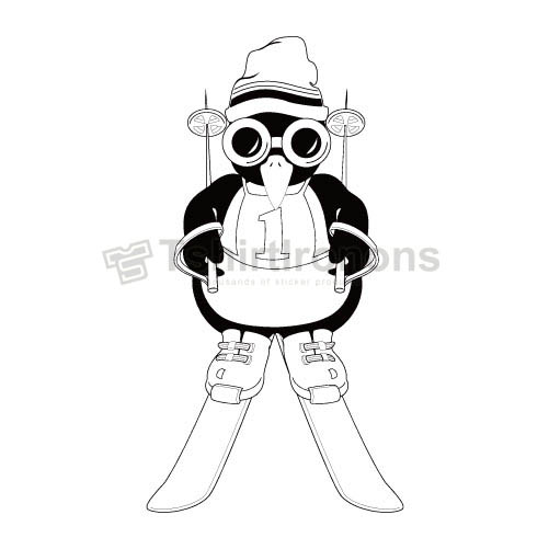 Penguin T-shirts Iron On Transfers N6938