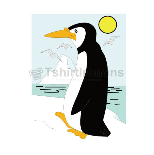 Penguin T-shirts Iron On Transfers N6942