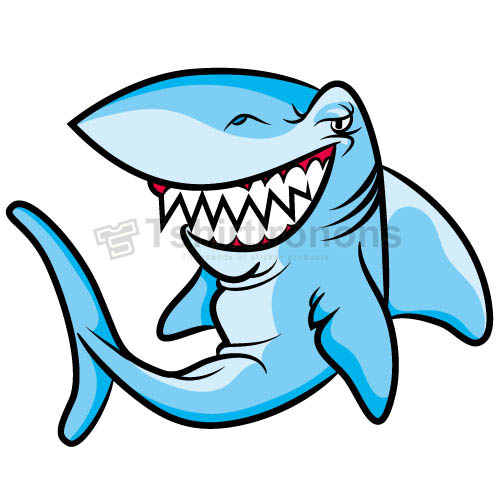 Shark T-shirts Iron On Transfers N5587