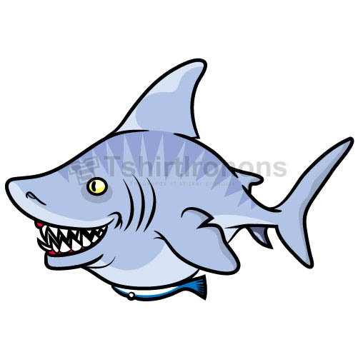 Shark T-shirts Iron On Transfers N5588