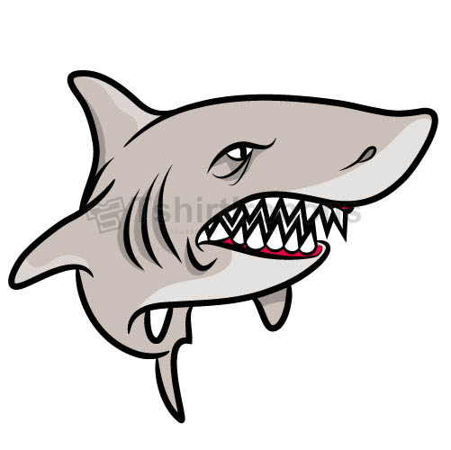 Shark T-shirts Iron On Transfers N5589
