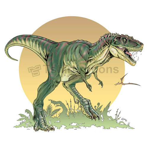 Tyrannosaurus T-shirts Iron On Transfers N6742