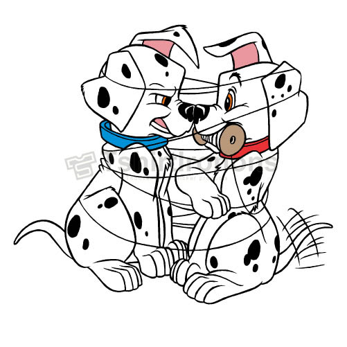 101 Dalmatians T-shirts Iron On Transfers N2339