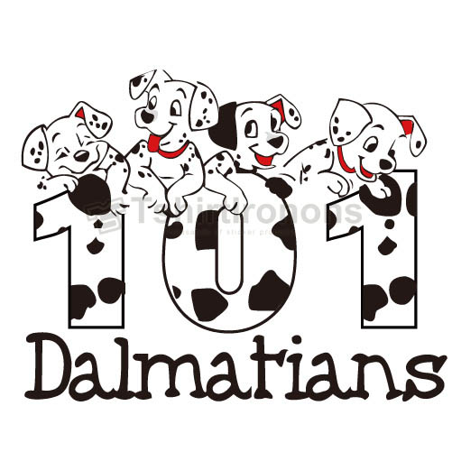 101 Dalmatians T-shirts Iron On Transfers N2354