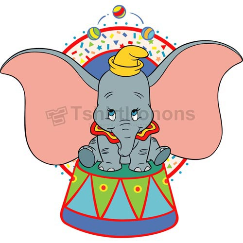 Dumbo T-shirts Iron On Transfers N3817