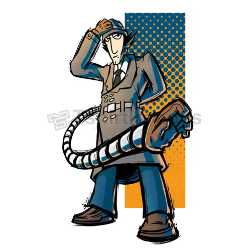 Inspector Gadget T-shirts Iron On Transfers N7319