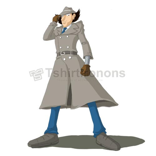 Inspector Gadget T-shirts Iron On Transfers N7320