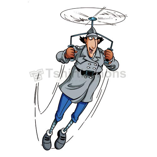 Inspector Gadget T-shirts Iron On Transfers N7321
