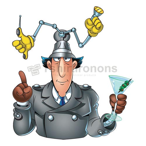 Inspector Gadget T-shirts Iron On Transfers N7322