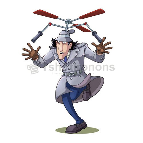 Inspector Gadget T-shirts Iron On Transfers N7323