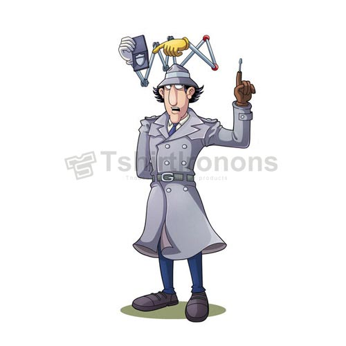 Inspector Gadget T-shirts Iron On Transfers N7325