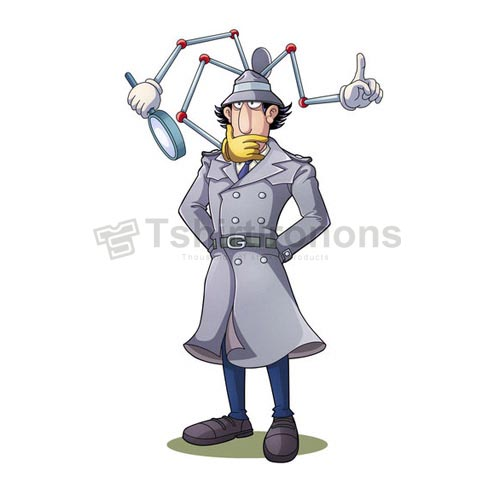 Inspector Gadget T-shirts Iron On Transfers N7326