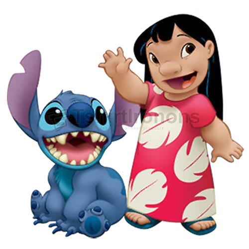 Lilo & Stitch T-shirts Iron On Transfers N6401