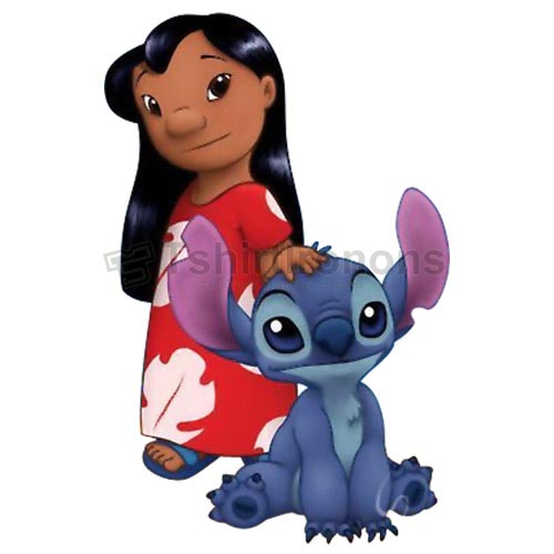 Lilo & Stitch T-shirts Iron On Transfers N6407