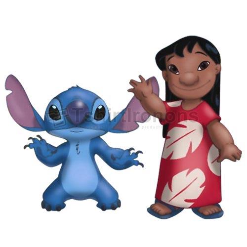 Lilo & Stitch T-shirts Iron On Transfers N6414