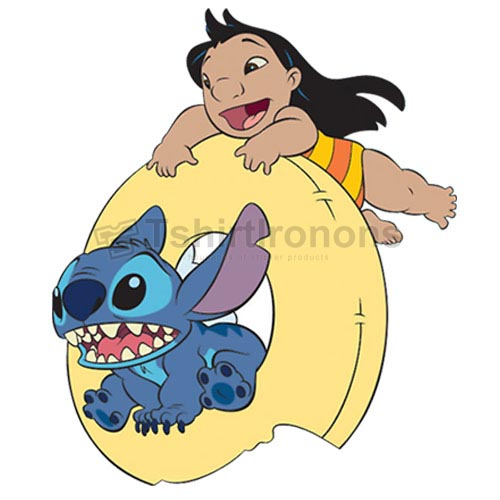 Lilo & Stitch T-shirts Iron On Transfers N6416