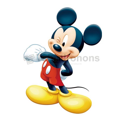 Mickey Mouse T-shirts Iron On Transfers N3888