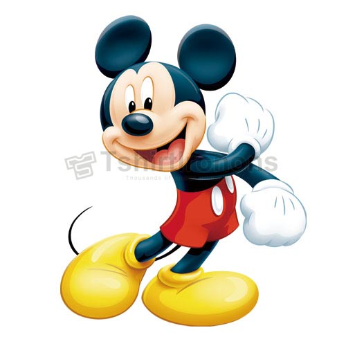 Mickey Mouse T-shirts Iron On Transfers N3889