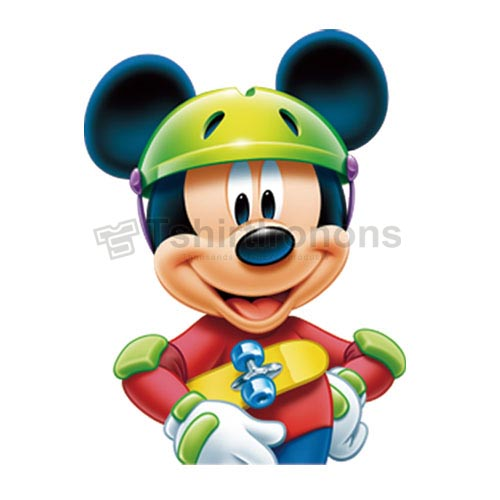 Mickey Mouse T-shirts Iron On Transfers N3890