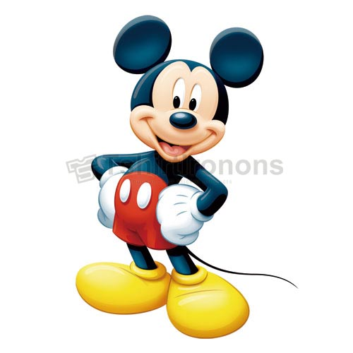 Mickey Mouse T-shirts Iron On Transfers N3891