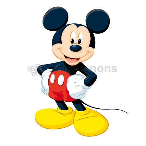 Mickey Mouse T-shirts Iron On Transfers N3901