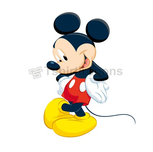 Mickey Mouse T-shirts Iron On Transfers N3902