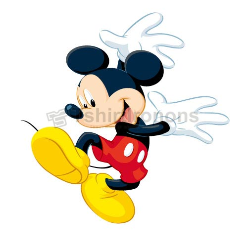 Mickey Mouse T-shirts Iron On Transfers N3903