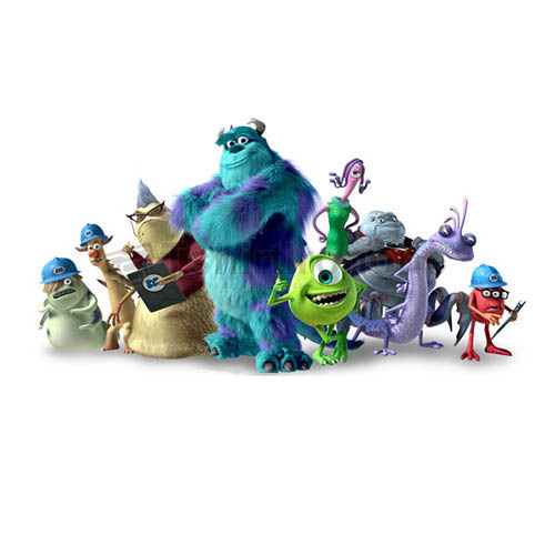 Monsters Inc T-shirts Iron On Transfers N3920