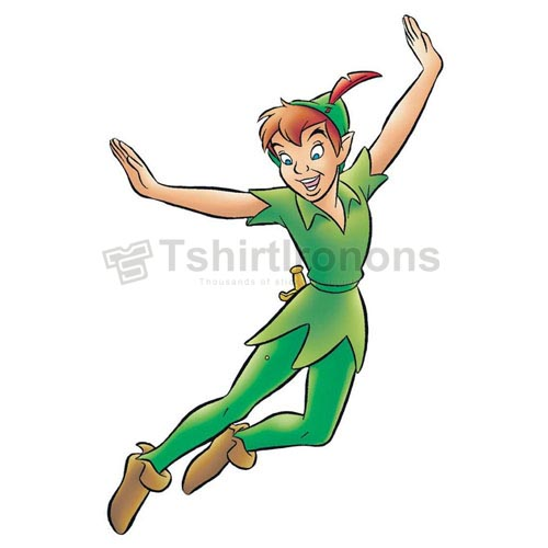 Peter Pan T-shirts Iron On Transfers N6581