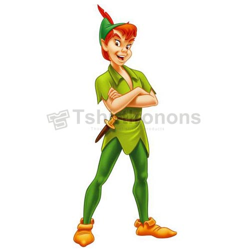 Peter Pan T-shirts Iron On Transfers N6583