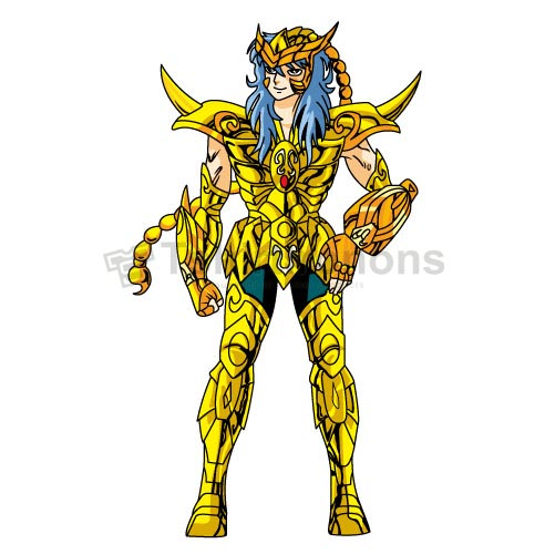 Saint Seiya T-shirts Iron On Transfers N4152