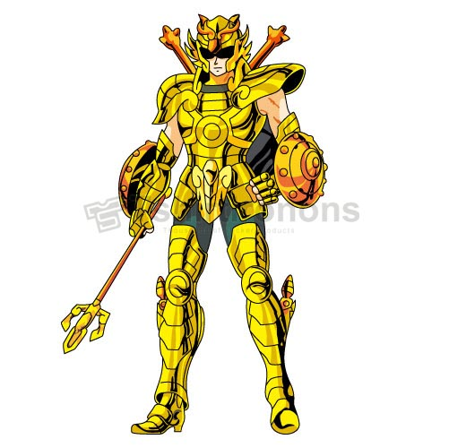 Saint Seiya T-shirts Iron On Transfers N4154