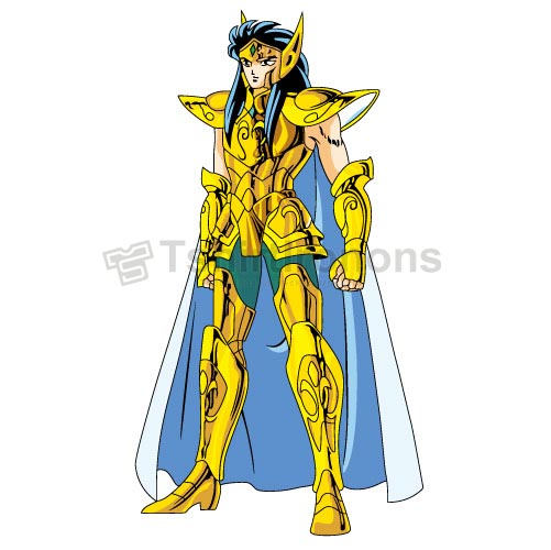 Saint Seiya T-shirts Iron On Transfers N4160