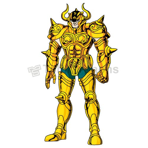 Saint Seiya T-shirts Iron On Transfers N4162