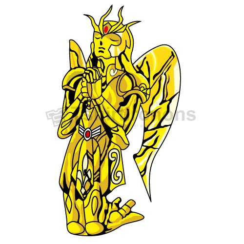 Saint Seiya T-shirts Iron On Transfers N4163