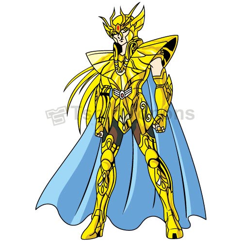 Saint Seiya T-shirts Iron On Transfers N4164