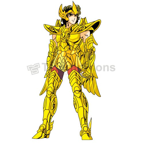 Saint Seiya T-shirts Iron On Transfers N4166