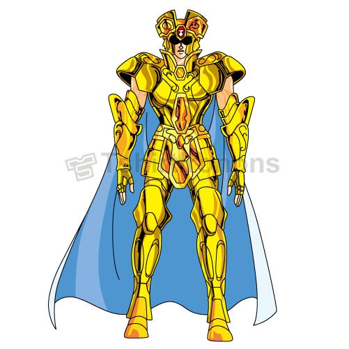 Saint Seiya T-shirts Iron On Transfers N4431
