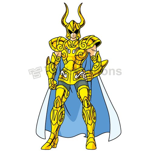 Saint Seiya T-shirts Iron On Transfers N4433