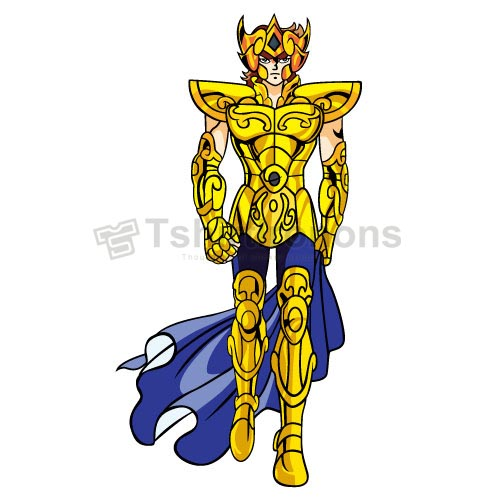 Saint Seiya T-shirts Iron On Transfers N4437