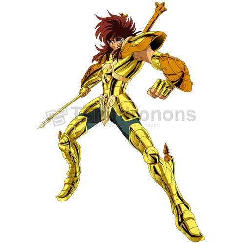 Saint Seiya T-shirts Iron On Transfers N4438
