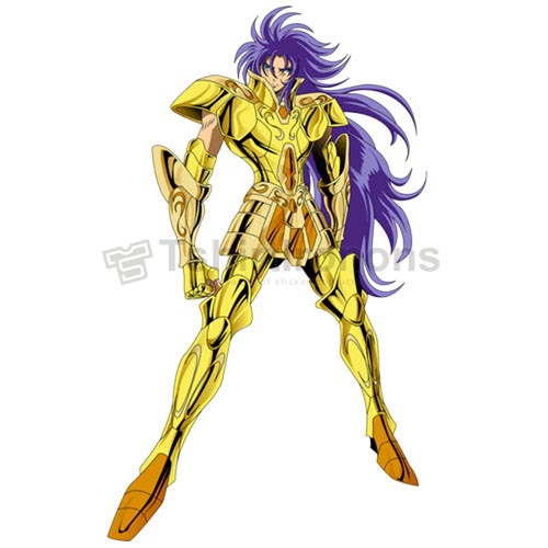 Saint Seiya T-shirts Iron On Transfers N4442