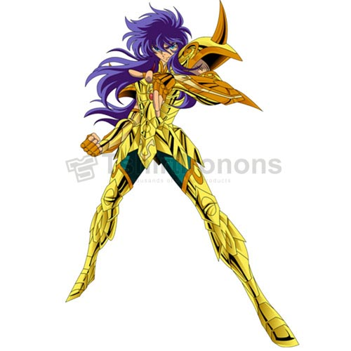 Saint Seiya T-shirts Iron On Transfers N4443